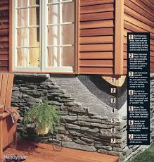 Faux Stone Post Sleeves by How To Install Stone Facing Stones Exterior Trim And Brick And