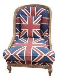 union jack club chair chairish