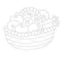 fruit u0026vegetable trace worksheet crafts and worksheets for