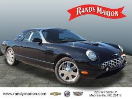 2002 Ford Thunderbird Premium Stock by Used Ford Thunderbird For Sale In Charlotte Nc Edmunds