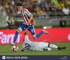 pasadena usa 7th june 2016 paraguay s miguel almiron top