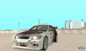 lexus is300 dubai lexus is300 drift style for gta san andreas