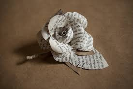 burlap boutonniere friendly grooms boutonniere made from book pages kraft paper and