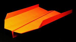 boomerang paper airplane