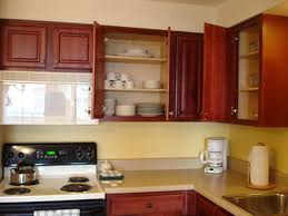 Remove Kitchen Cabinet How To Remove Grease From Kitchen Cabinets Hunker