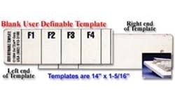 keyboard templates