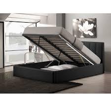 raised bed under storage platform bedroom queen size mattress