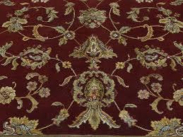 Silk Oriental Rugs 5 U0027 X 7 U0027 Wool And Silk Burgundy Rajasthan Hand Knotted Oriental Rug