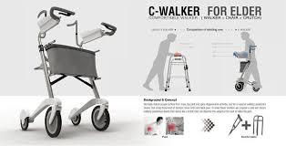 elder walker c walker for elder handicap able designs product