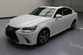 lexus sedan white used 2016 lexus gs 350 for sale 41 980 vroom