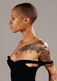image of shaved head hairstyles bald pinterest short shaved