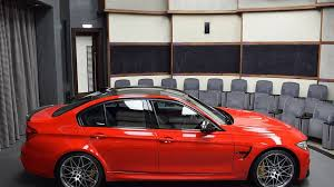 Bmw M3 Red - bmw m3 with competition package and ferrari red paint motor1 com