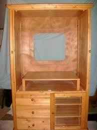 Shutter Armoire Entertainment Armoire With Doors Foter