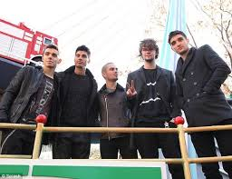 the wanted at the macy s thanksgiving day parade oh no they didn