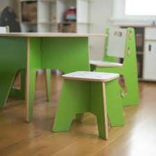 Childrens Desk And Stool Modern Kids Table And Stools Folding American Made U2013 Sprout