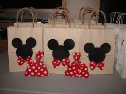 mickey mouse favor bags sting inspirations mickey mouse gift bags