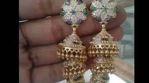 rajputi earrings rajputi earrings design 2017 golden rajputi traditional