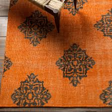 Orange And Brown Area Rug Flooring Elegant Large Orange Lowes Rugs For Living Room Floor