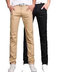 black pants fashion men white pants 2016