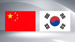 Korea Flag Icon China Rok Reaffirm Korean Peninsula Denuclearization Cgtn America