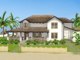 sims dream beach house sunlit tides youtube house plans 78941