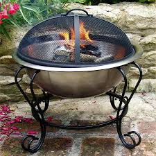Portable Fire Pit Walmart Garden Knowing The Design On Cheap Portable Fire Pit Ideas