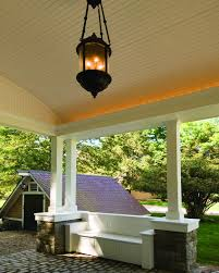 carport porte cochere port cochere with vaulted ceiling and reclaimed cobblestone