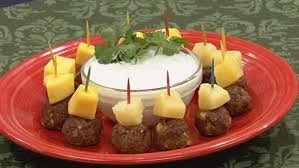 indian appetizers indian meatballs with yogurt raita let s dish the live well