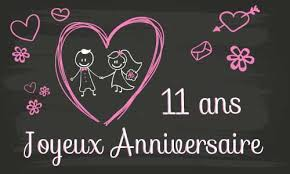 11 ans de mariage mariage 11 ans de mariage