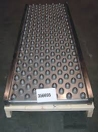 roller ball table top omni metalcraft corp gravity roller conveyor stainless steel and