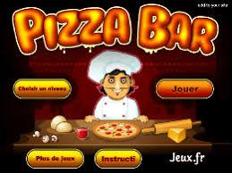 jeux fr cuisine pizza bar a pizza un des jeux en ligne gratuit sur jeux jeu fr