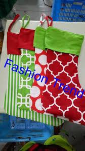 popular cotton christmas stockings buy cheap cotton christmas