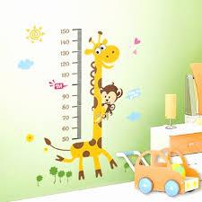 stickers girafe chambre bébé 51 meilleur de porte fenetre pour deco murale chambre bebe fille