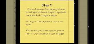 How To Write Professional Summary For Resume How To Write An Executive Summary Jobs U0026 Resumes Wonderhowto