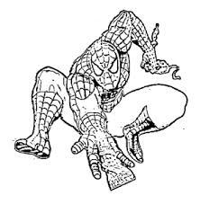 print u0026 download spiderman coloring pages enjoyable