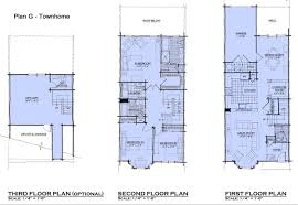 narrow lot house plan small 20 wide 9920 plans waterfront luxihome