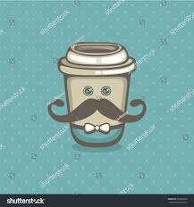 coffee go vector illustration cute cup stock vector 693266620