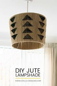 lamp shade for chandelier the easiest diy jute lampshade you u0027ll ever make u2022 grillo designs