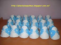 el taller de pau zapatitos para recuerdo de baby shower