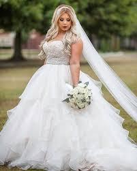 jeweled wedding dresses 34 jaw dropping plus size wedding dresses weddingomania