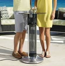 Patio Heater Table Energy Efficient Patio Heater Table Keeps You Warm On Cold Patio