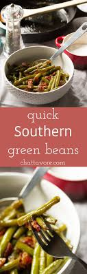 southern green beans chattavore