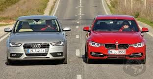 bmw 3 vs audi a4 audi s updated a4 squares up with the all bmw 3