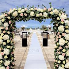 wedding arches decorated with flowers floral wedding arch meijer roses