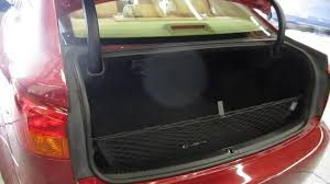 red lexus is 250 2006 2006 lexus is250 red stock 000978 trunk youtube