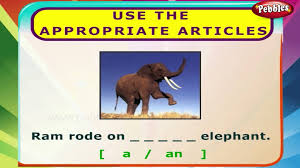 Worksheets On Interjections Use The Appropriate Articles English Grammar Exercises For Kids