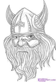 warrior viking tattoo sketch photos pictures and sketches