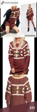 Free Northern Lights Sweater In Nwt Free Northern Lights Sweater Dress Exposed Seams And A