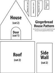 printable model house template house pattern printable 544e33e5e4c6733f3f8d544927a9d9cd gingerbread