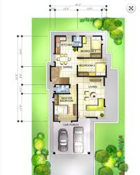 double storey bungalow house with plan home design
